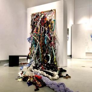Matérialité fugitive, Érika LeBrun, Galerie R3, Trois-Rivières, 2017